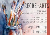 Recre-Arts tentoonstelling 2016